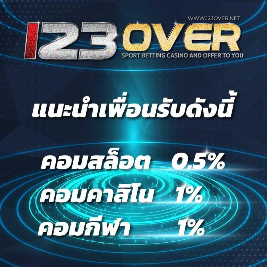 123 Over เว็บพนันออนไลน์ สล็อต บาคาร่า บอลออนไลน์